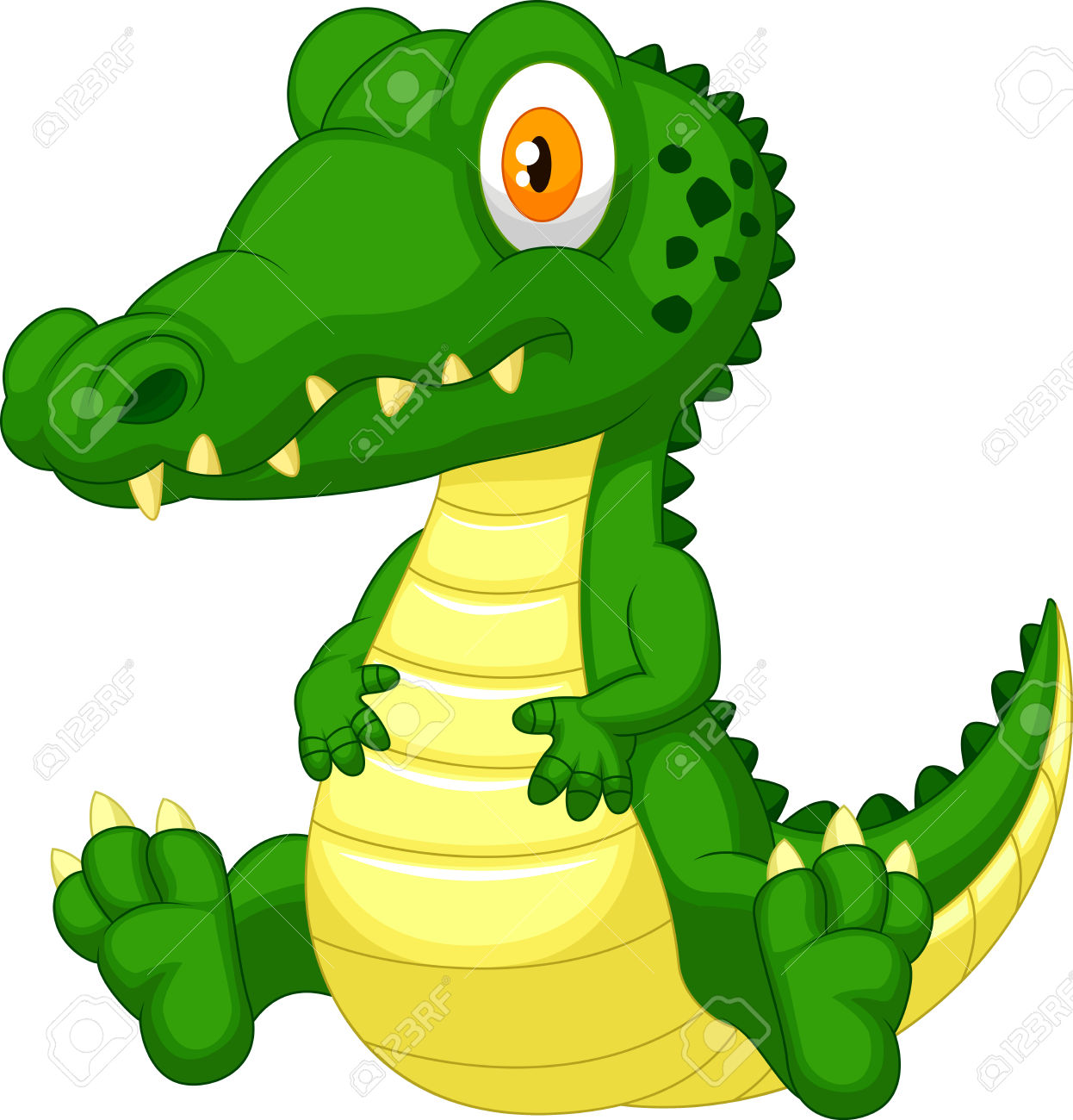 1246x1300 Young Crocodile Clipart