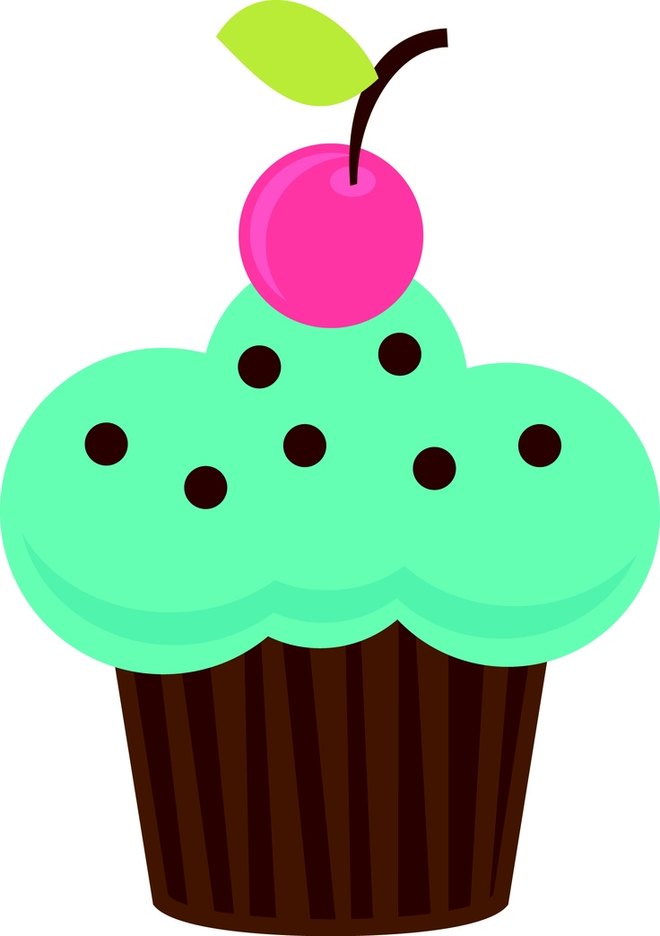 736x1044 347 Best Cupcakes Clipart Images Draw, Painting