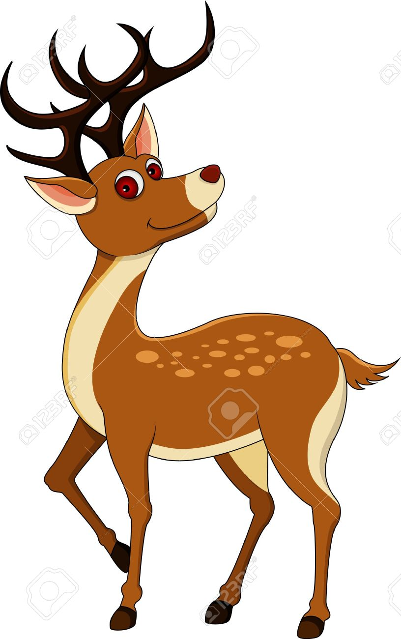 Cute Deer Clipart