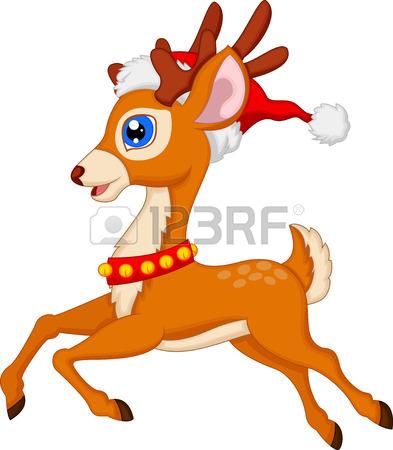 393x450 Cute Deer Cartoon Royalty Free Cliparts, Vectors, And Stock