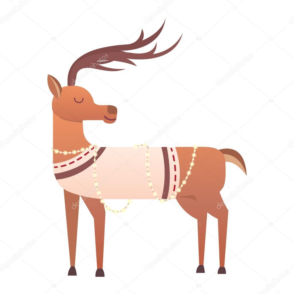 1024x1024 Cartoon Deer Vector Animal Stock Vector Vectorshow