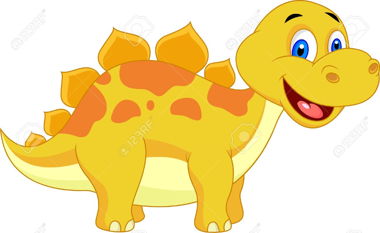 Cute Dinosaur Clipart | Free download on ClipArtMag