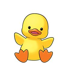 220x220 Baby Ducks Clipart