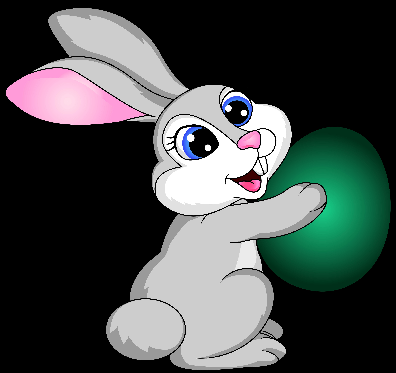 6000x5637 Cartoon Bunny Cliparts 186737