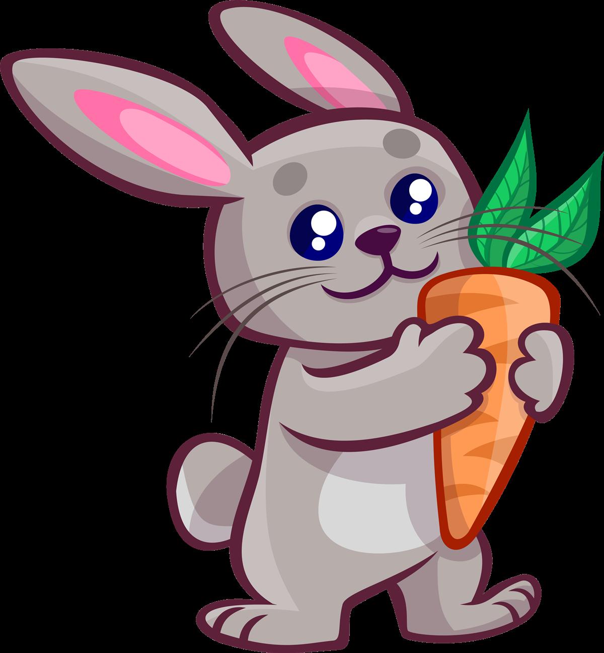 1200x1296 Cute Bunny Clipart