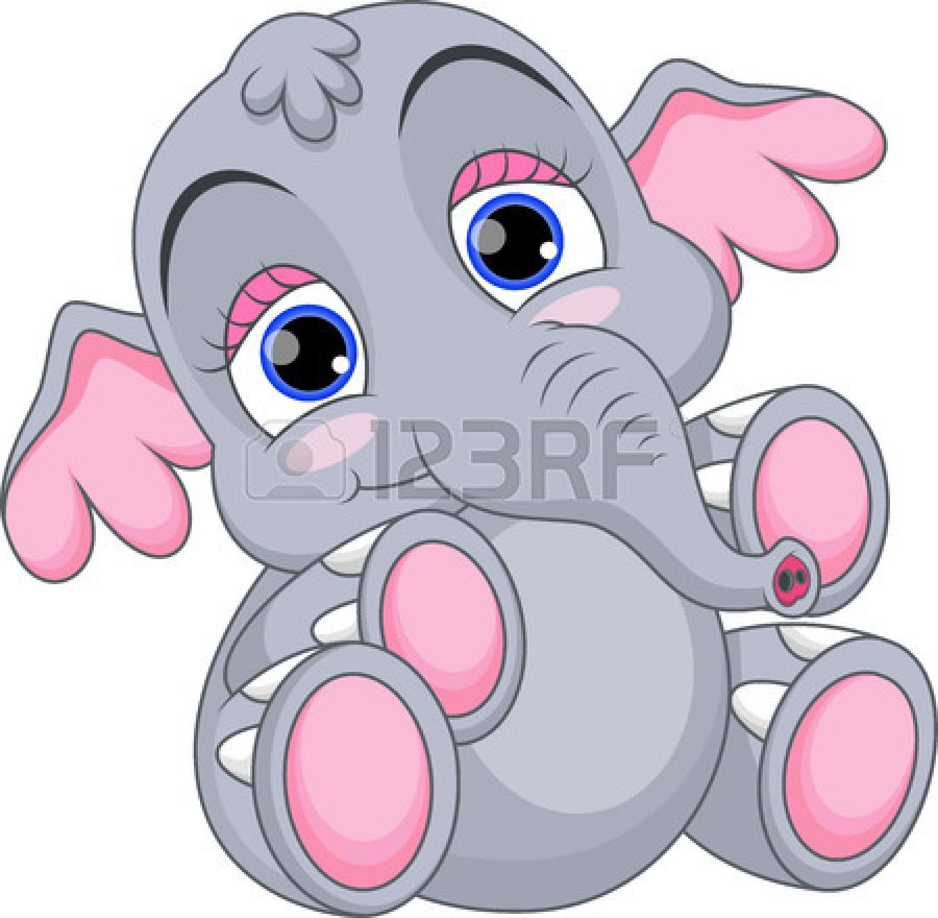 1350x1320 Cute Baby Elephant Cartoon Elephant Baby Elephants