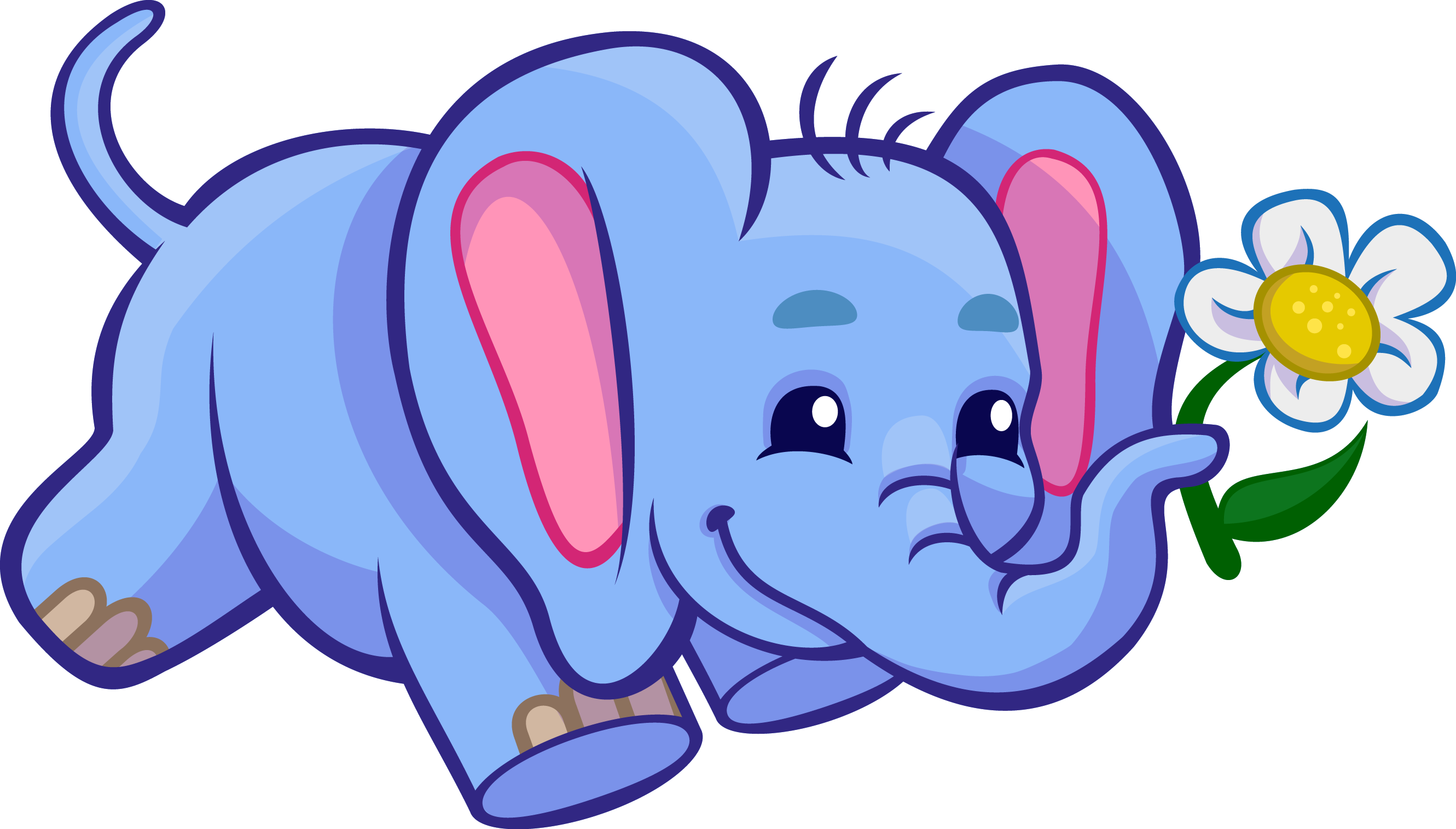 Cute Elephant Clipart | Free download on ClipArtMag