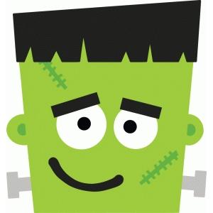 300x300 Frankenstein Clipart Face