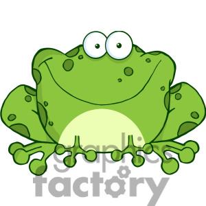 300x300 Free Cute Frog Clip Art Clipart Panda