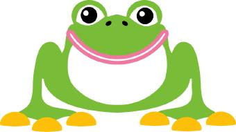 340x191 Frog clip art Clipart Panda