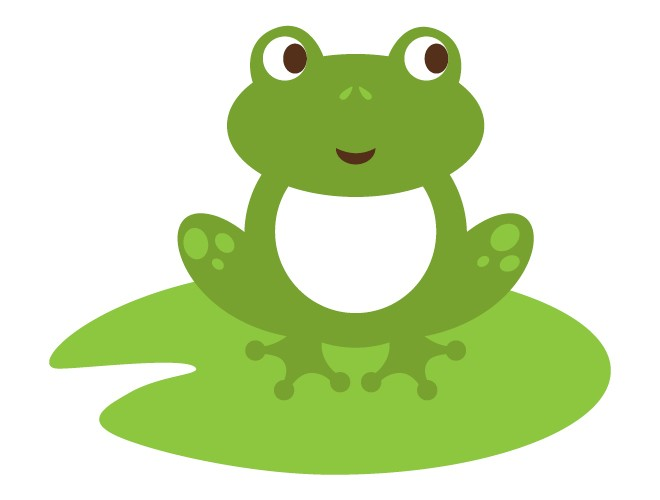 660x500 Best Cute Frog On Lily Pad Clipart