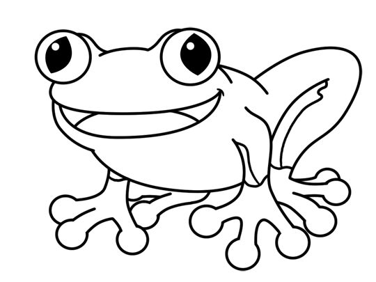 540x405 Tree Frog clipart forg