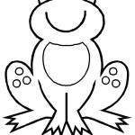150x150 Cute Frog Coloring Pages