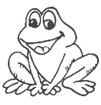 411x430 Cute Frog Coloring Pages Frog Coloring Pages Cute Of A Bull