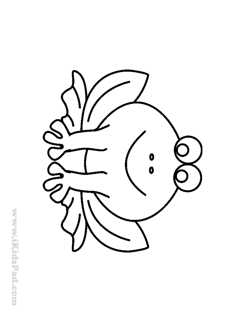 768x1024 Free Coloring Pages Of A Frog In A Pond Many Interesting Cliparts