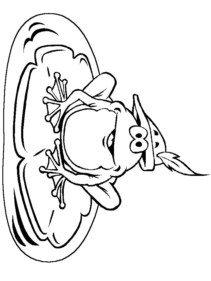 718x957 Outstanding Realistic Frog Coloring Pages Around Inspiration