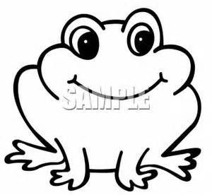 Cute Frog Drawing