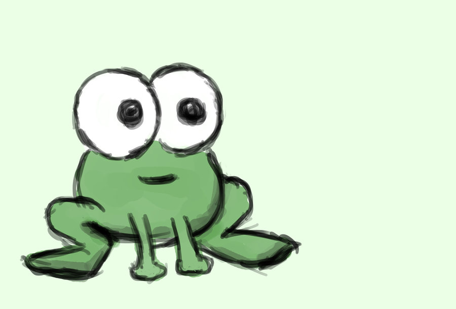 900x610 Toon Frog By Quirkney