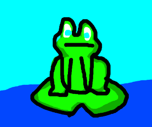 300x250 Cute Frog [Looks Like The One From Lucio]