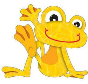 Cute Frogs Clipart