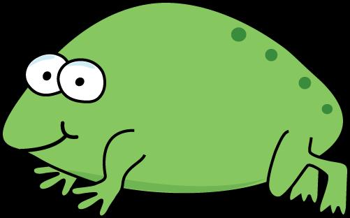 501x312 Frog Clip Art