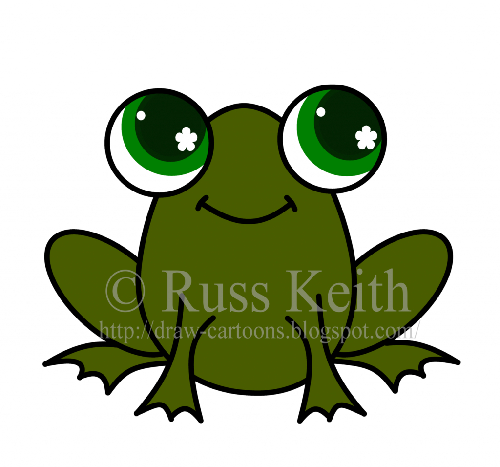 1024x956 How To Draw A Baby Frog Cute Frog Clip Art Black And White Clipart