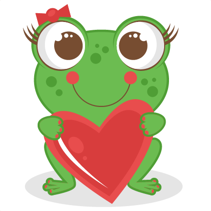 432x432 Cute Frog Clipart
