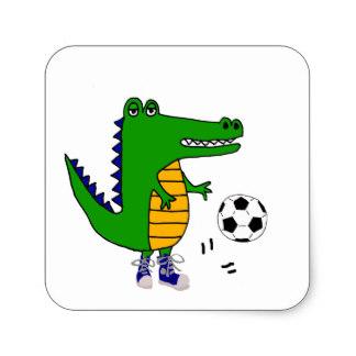 324x324 Gator Stickers Zazzle