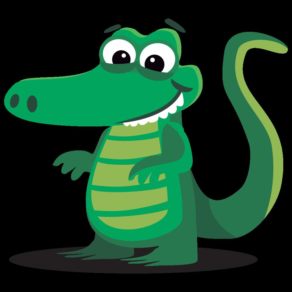 1000x1000 Amphibian Clipart Alligator