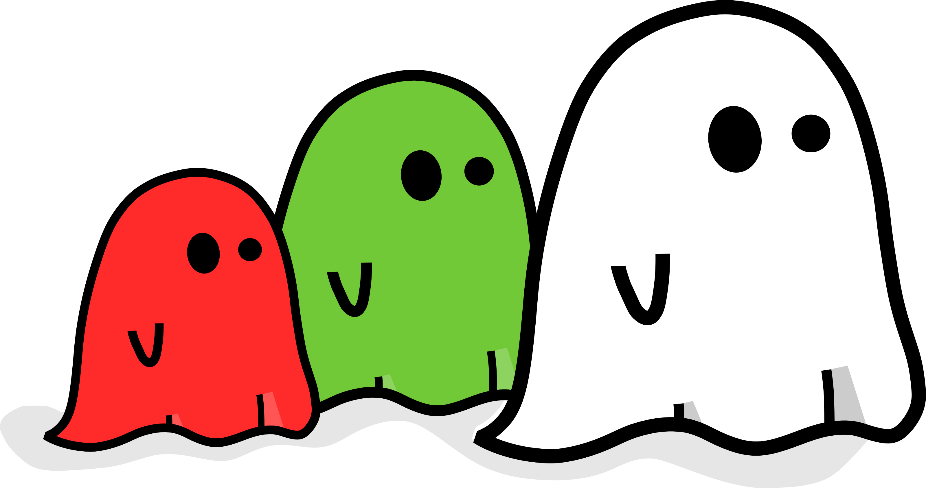 3200x1688 Cute Halloween Ghost Clipart Clipart Kid