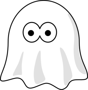 291x299 Ghost Clip Art Pattern Free Clipart Images