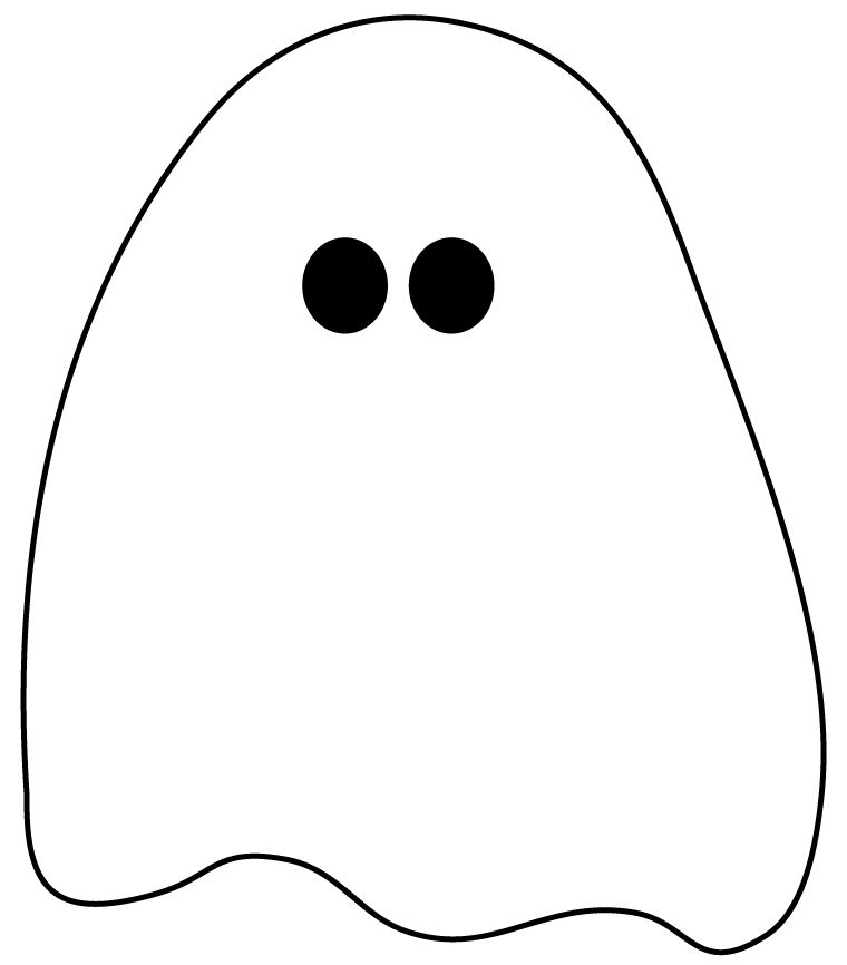 760x866 Cute Ghost Clipart Clipart Kid 2