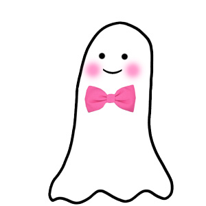 300x300 Cute Ghost Clipart