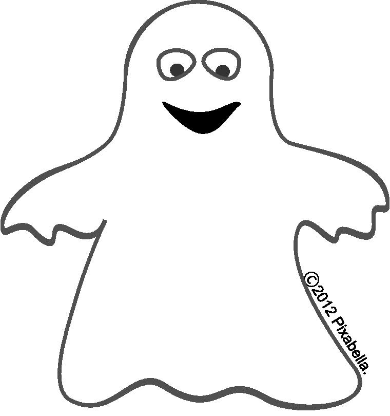 760x810 Cute Ghost Clipart Clipart Kid