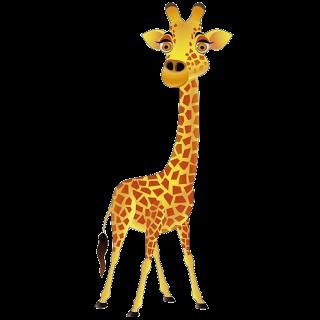 320x320 Cute Giraffe Clipart