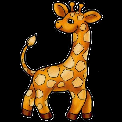 400x400 Cute Clipart Baby Giraffe