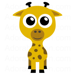 250x250 Giraffe Clipart Clipart Panda
