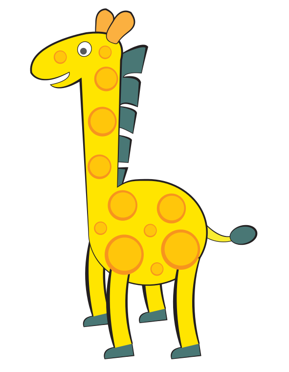 591x760 Giraffe Free To Use Clipart 4