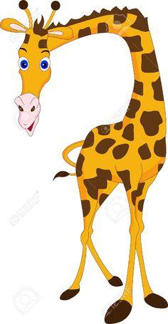 236x455 Vector Clipart Giraffe