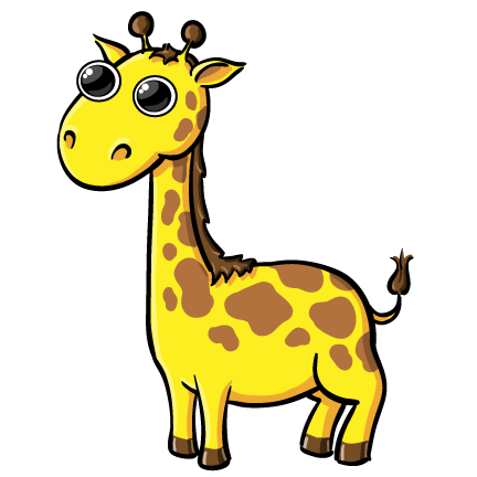 432x432 Baby Giraffe Clipart Free Clipart Images