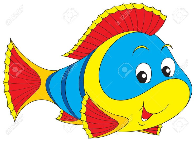 Cute Goldfish Clipart