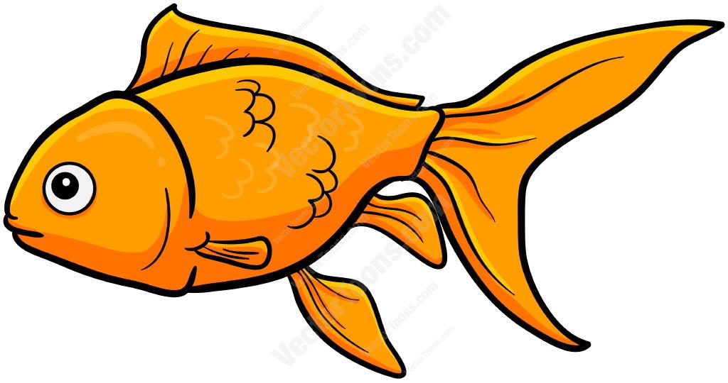 1024x540 Gold Fish Clipart Cute