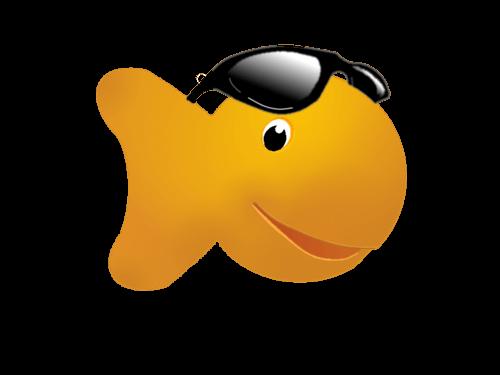 500x375 Goldfish Cliparts Girl 216714