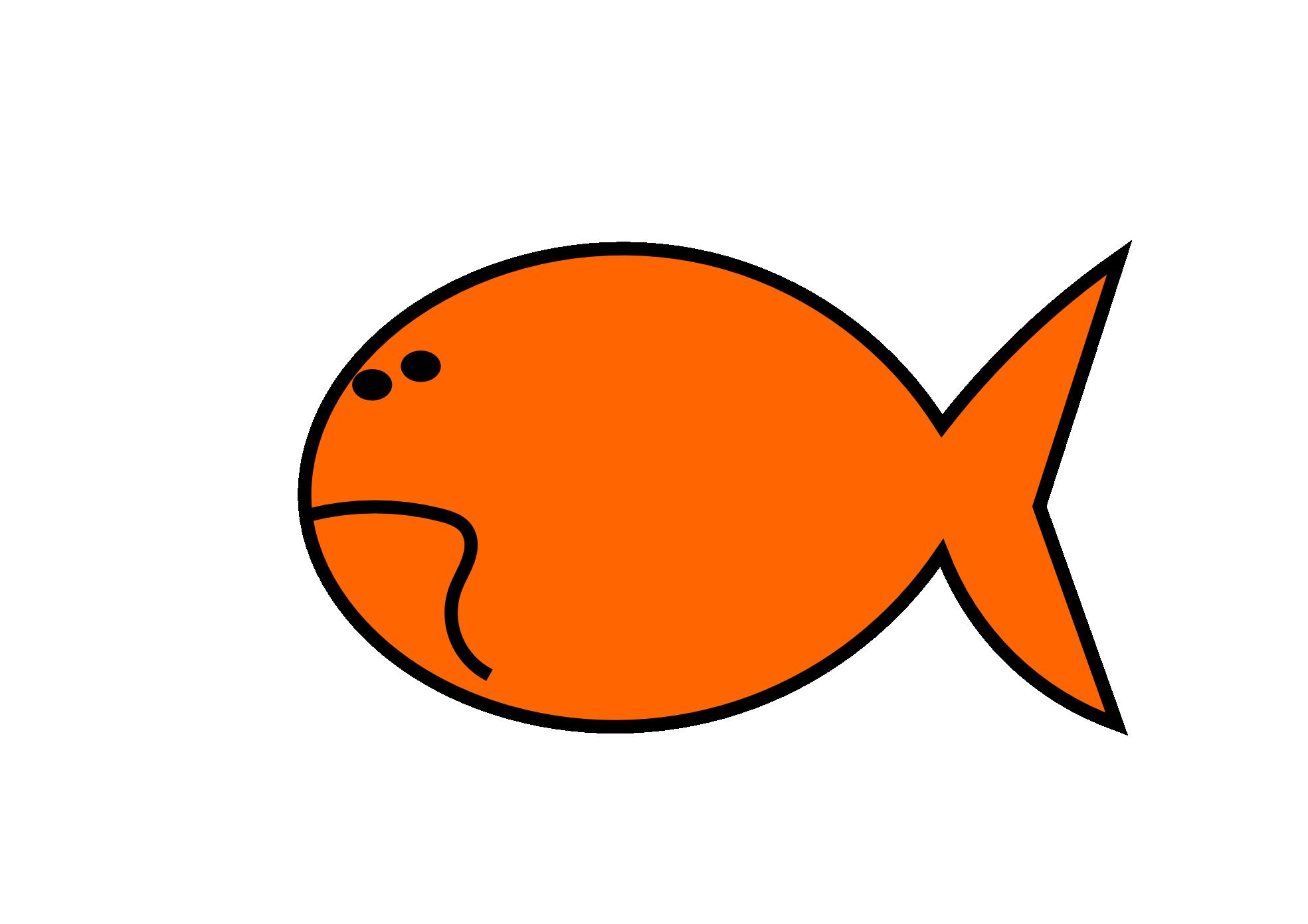 1969x1392 Goldfish Clipart Cute