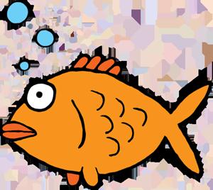 300x268 Goldfish Gold Fish Clip Art 2