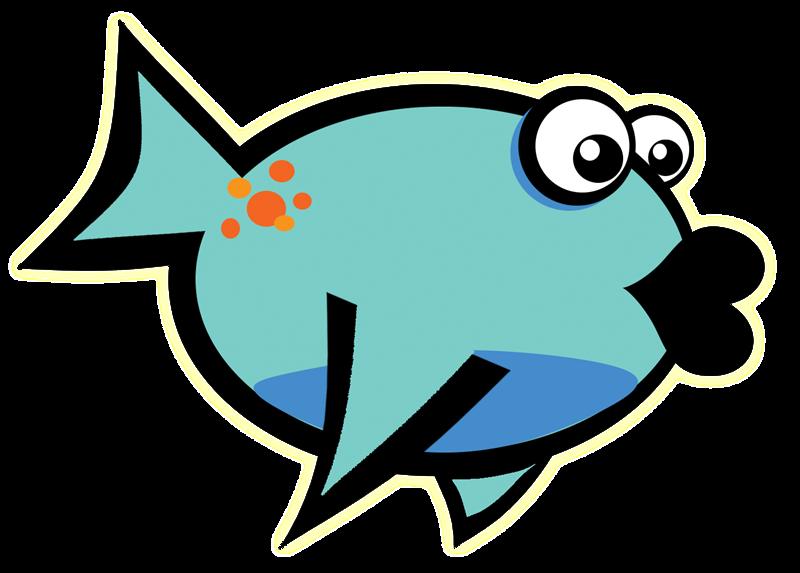 800x573 Cartoon Goldfish Clipart