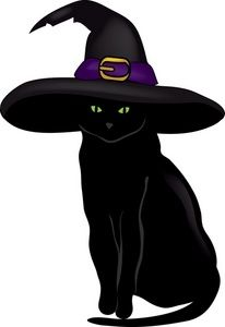206x300 Interesting Black Cat Clipart Cute Halloween Clip Art Images