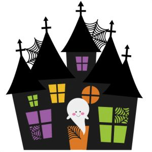 300x300 Haunted Houses Cute Clipart And Clip Art