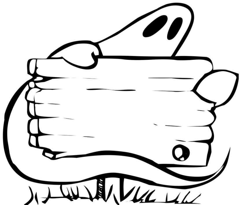 830x710 Ghost Clipart