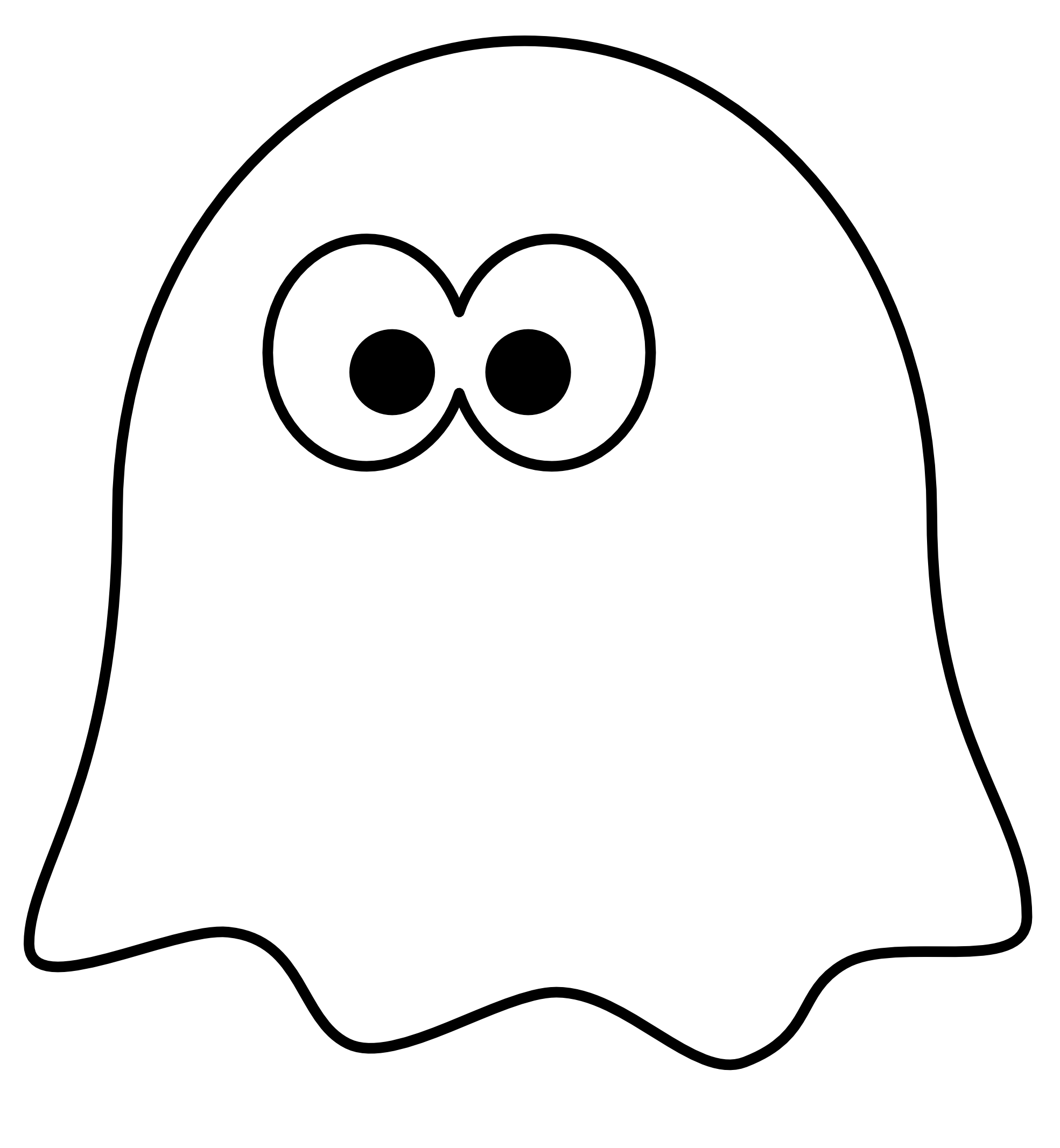 1969x2133 Animated Ghost Clipart